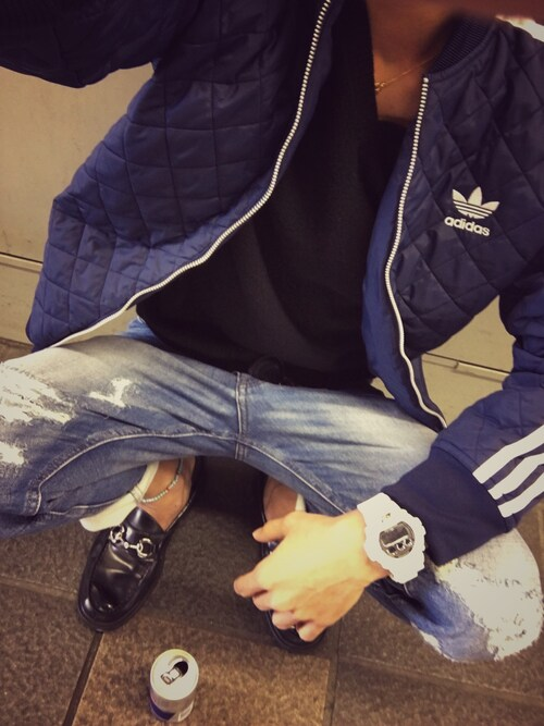 「adidas Originals Quilted Jacket AB7860(adidas)」 using this ken looks