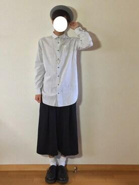 kazuyukiさんの「BY バスク ベレー帽(BEAUTY&YOUTH UNITED ARROWS|ビューティアンドユースユナイテッドアローズ)」を使ったコーディネート