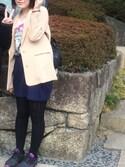 くーさんの「☆春の新作ジャケット☆ジョーゼットテーラードジャケットロングスリーブ 536690(LOWRYS FARM|ローリーズ ファーム)」を使ったコーディネート