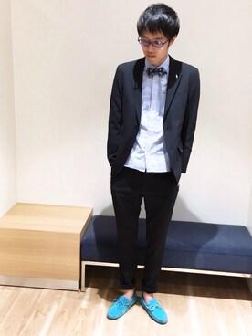 TRANS CONTINENTS 越谷レイクタウン店|takashi.nさんの(TRANS CONTINENTS|トランスコンチネンツ)を使ったコーディネート