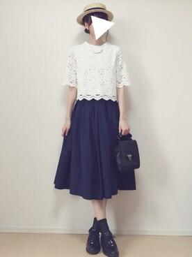 MAYUKOさんの(RETRO GIRL|レトロガール)を使ったコーディネート