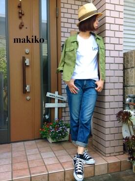 makikoさんの(CA4LA|カシラ)を使ったコーディネート
