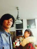 tamanekoさんの「GIDDY UP! CHECK MODS COAT(Candy Stripper|キャンディストリッパー)」を使ったコーディネート