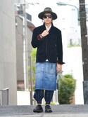 【glamb】TKさんの「Battista apron(glamb|グラム)」を使ったコーディネート