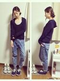 SLY   黒長袖Tシャツ(Tシャツ・カットソー)