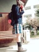 ☆kiraky☆さんの「WALLMUG DEMITA(UR SELECT|ユーアールセレクト)」を使ったコーディネート