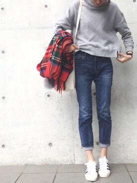 minminmaaaさんの(adidas|アディダス)を使ったコーディネート