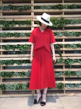 ADAM ET ROPE' 新宿LUMINE2|RihoMaekawaさんの(ADAM ET ROPE'|アダム エ ロペ)を使ったコーディネート