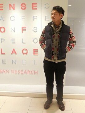 SENSE OF PLACE by URBAN RESEARCH 天王寺MIOプラザ店|SENSE OF PLACE 天王寺MIOプラザ店 STAFFさんの(SENSE OF PLACE by URBAN RESEARCH|センス オブ プレイス バイ アーバンリサーチ)を使ったコーディネート