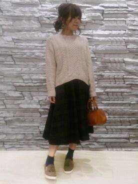 クロールバリエ神戸元町店 satoさんの(COULEURVARIE クロールバリエ)を使ったコーディネート