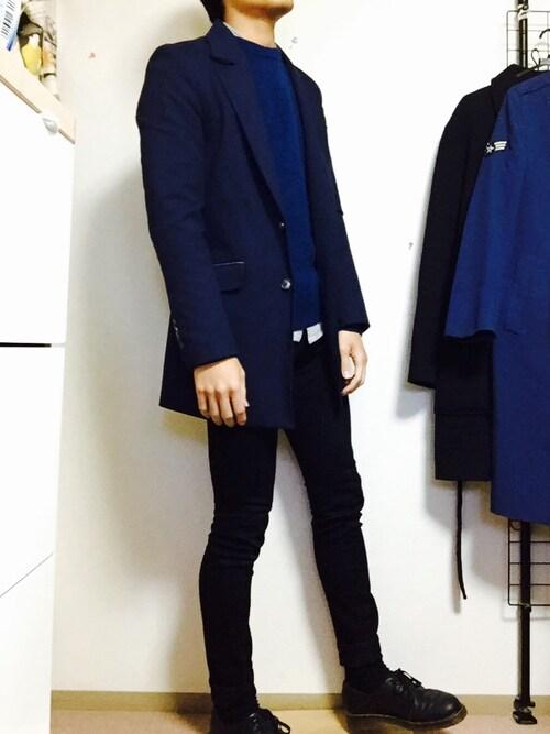 【冬ファッションの救世主】白パンツはメンズのマストアイテム*
