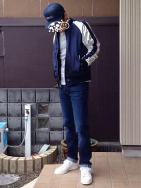 TETSUさんの(adidas アディダス)を使ったコーディネート