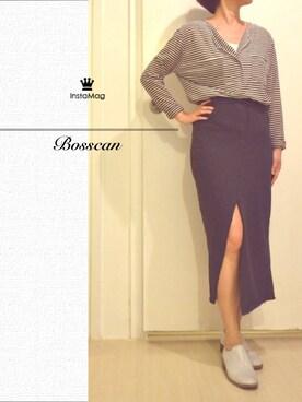 (Korean brand) using this bosscan波士罐頭 looks