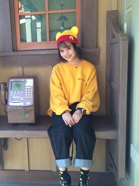 fumiさんの(Disney)を使ったコーディネート