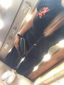 #ainaさんの「[GIORDANO]ライオン刺繍ポロシャツ(GIORDANO|ジョルダーノ)」を使ったコーディネート