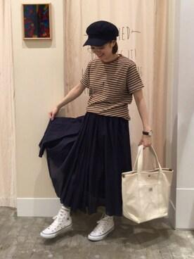 「マリンキャスケット(coen)」 using this coenららぽーと磐田店|coen なかみね looks
