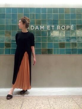 ADAM ET ROPE' 天王寺MIO|SAKIさんの「アダムエロぺ天王寺ミオ限定スカート(Adam et Rope')」を使ったコーディネート