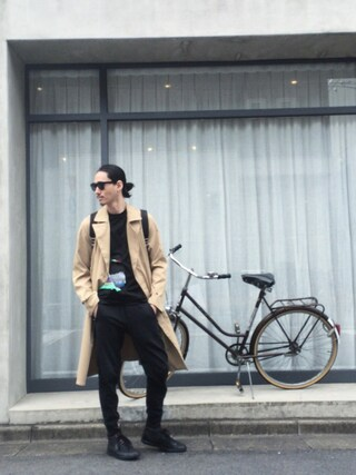 賀津 塔さんの「ダブルスプリングシャツコート(UNITED TOKYO|ユナイテッドトウキョウ)」を使ったコーディネート