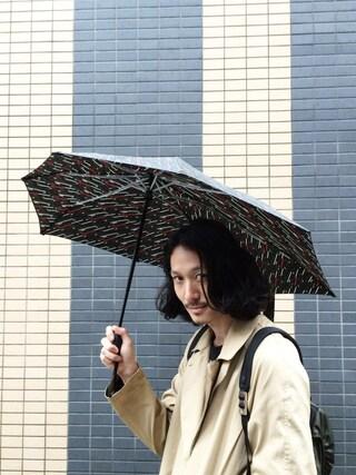 賀津 塔さんの「SENZ senz AUTOMATIC(SENZ Umbrellas|センズ アンブレラス)」を使ったコーディネート