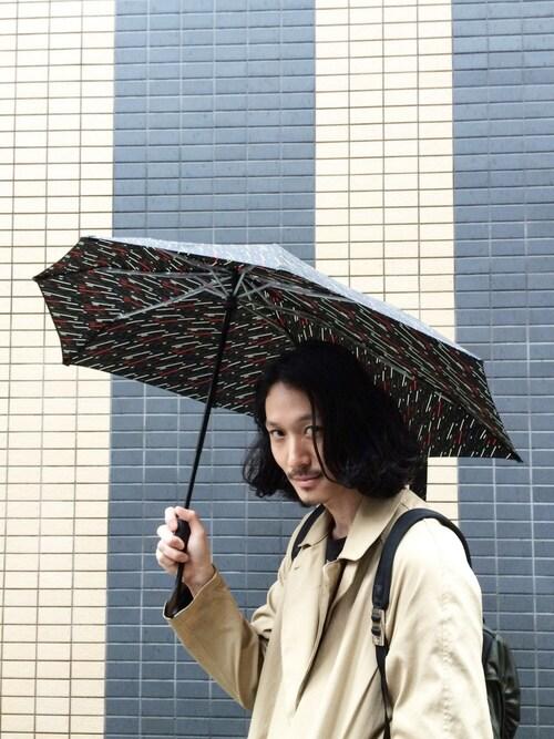 ビニール傘じゃ味気ない味気ない|おしゃれメンズは小物にも全力投球