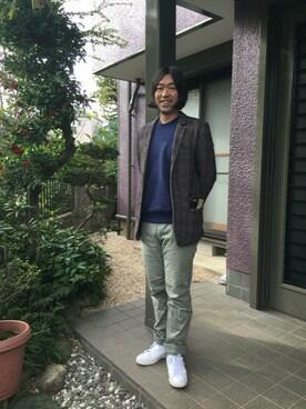 TOMOHIRO HARIGAEさんの(Optitude|オプティチュード)を使ったコーディネート