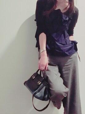 Saho Watanabeさんの(ROSSO|アーバンリサーチ ロッソ)を使ったコーディネート