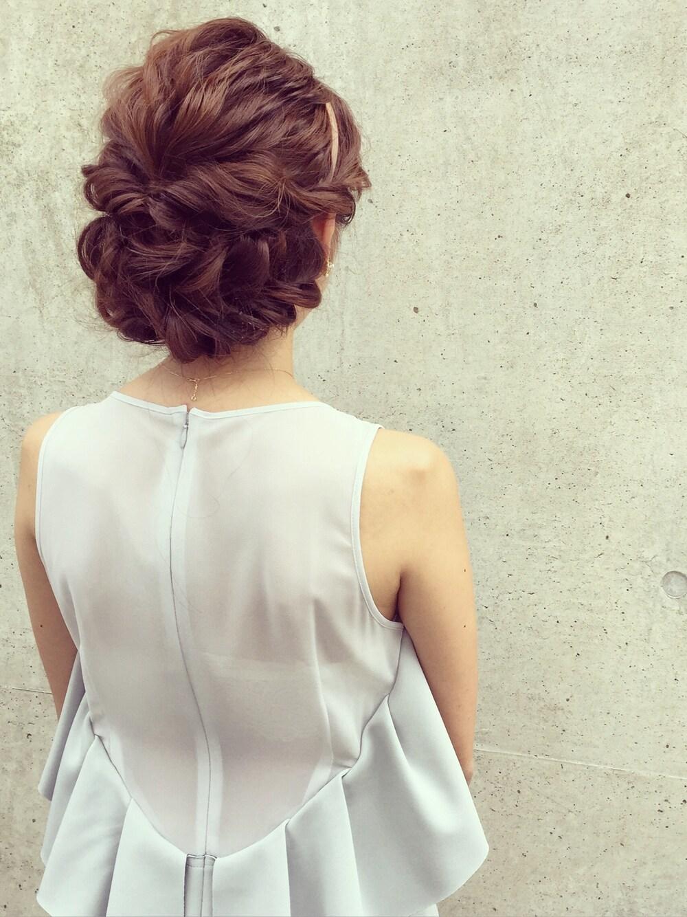 髪型 母親 入学式 20代