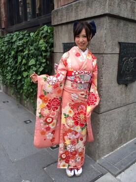 ふりそでMODE|ふりそでMODE渋谷パルコ店さんの(wedding box)を使ったコーディネート