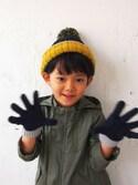 KAZUさんの「ニット手袋(Love&Peace&Money|ラブアンドピースアンドマネー)」を使ったコーディネート