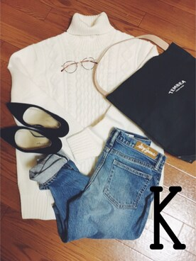 k.🍕さんの「<TEMBEA>ロゴトートバッグ-united LOVE project 2016†(TEMBEA|テンベア)」を使ったコーディネート