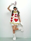 shioriさんの「ハロウィン マリオネット ホワイトラビット(VENCEEXCHANGE|ヴァンスエクスチェンジ)」を使ったコーディネート