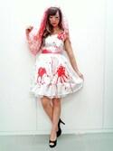 shioriさんの「ハロウィン ブラッドウェディングガール(VENCEEXCHANGE|ヴァンスエクスチェンジ)」を使ったコーディネート