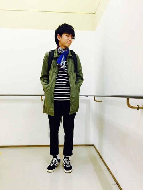 kazuma sakataさんの「オリジナルス 日本モデル キャンパス80s[CP 80s JAPAN PACK VNTG](adidas)」を使ったコーディネート
