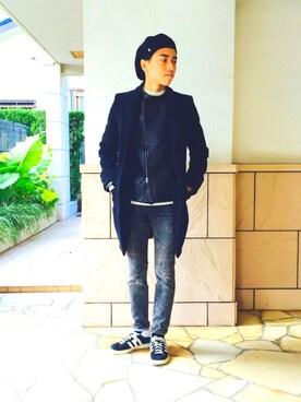 kazuma sakataさんの「adidas CP 80s(adidas)」を使ったコーディネート