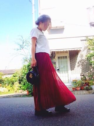 Yuka さんの「ロングスカート(MOUSSY|マウジー)」を使ったコーディネート