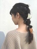 yukino satoさんの「<再入荷>ハートクリップ(Kastane|カスタネ)」を使ったコーディネート