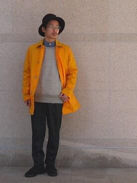 toit plus homme|toitplushommeさんの(Traditional Weatherwear|トラディショナルウェザーウェア)を使ったコーディネート
