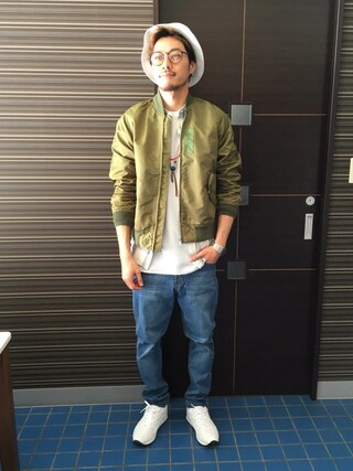 ZIP CLOTHING STORE | KONハット「ZIP FIVE 」Styling looks