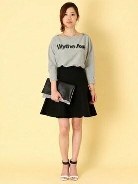 yamaki│Rouge vifのTシャツ・カットソーコーディネート