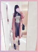「FOREVER 21 Cropped Sweater Top(Forever 21)」 using this  cherry. 🎈 looks