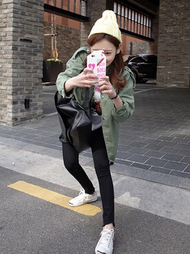 minsshop|minsshopさんの「(iPhone6)ミルクケース(minsshop)」を使ったコーディネート