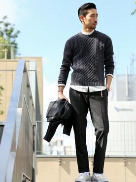 EDIFICE新宿店|松木さんの「◇adidas EX GAZZELE 85 EF(adidas)」を使ったコーディネート