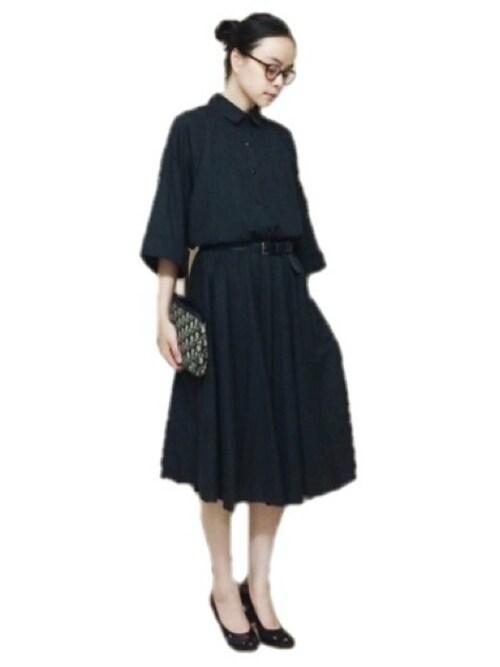 二次会のドレス・ワンピースの参考コーディネート画像