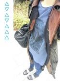 TGYさんの「Alexander Wang Marti Soft-Wash Lambskin Backpack, Black(Alexander Wang|アレキサンダーワン)」を使ったコーディネート