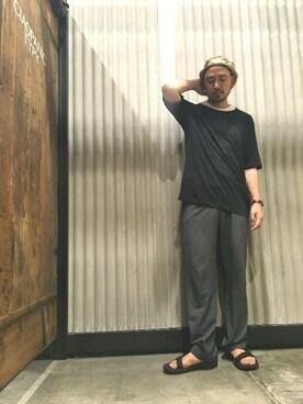 CIAOPANIC TYPY|Yusuke Tanakaさんの(Steven Alan|スティーブンアラン)を使ったコーディネート
