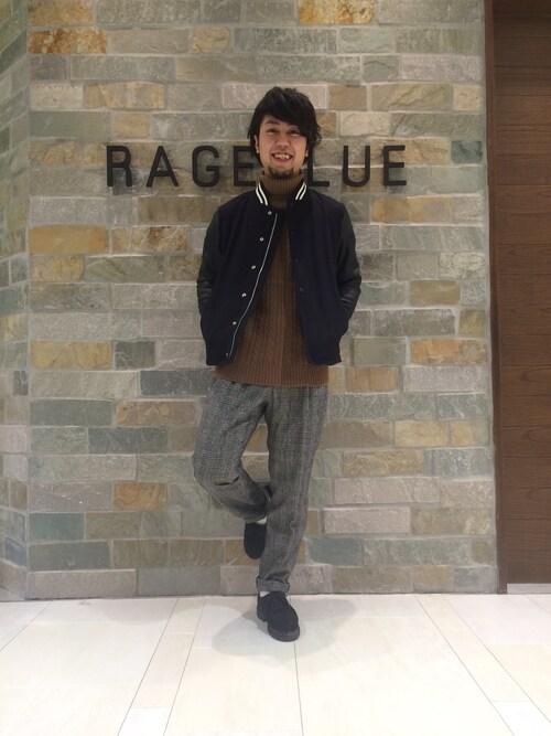 萩さんの「ウールスタジャン/565595(RAGEBLUE)」を使ったコーディネート