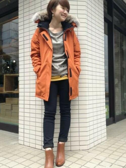 カナダのガチョウのジャケット