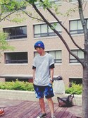 「CHUCK TAYLOR OX(Converse)」 using this 愛 looks