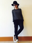 「James Perse Twill Utility Pants(James Perse)」 using this 平山あや looks