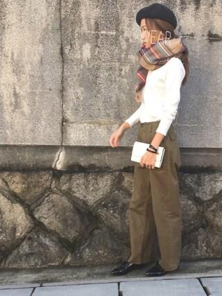 Sato*さんの「お財布ショルダー(mysty woman ミスティウーマン)」を使ったコーディネート
